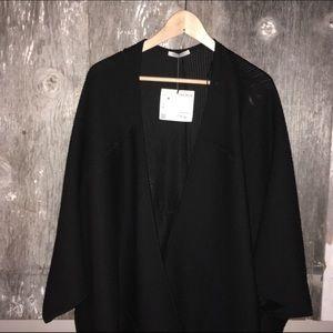 Black Zara shawl / cardigan / kimono Large